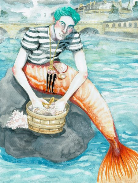 Parisian mermaid