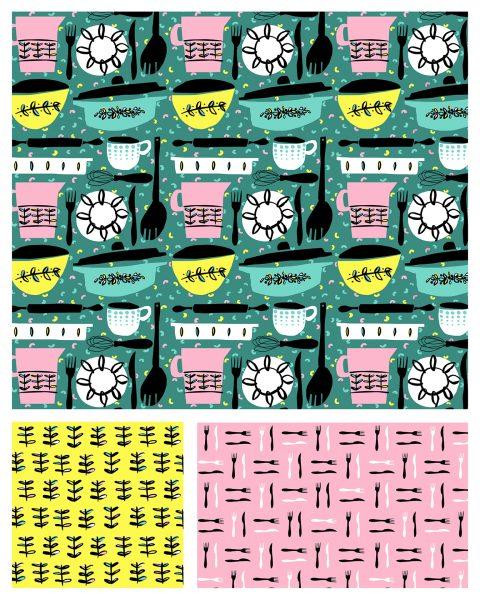 Pasta & Pyrex Pattern