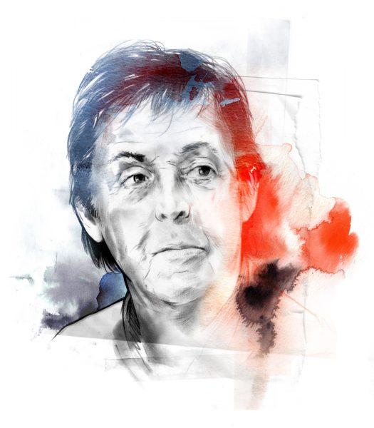 Paul McCartney/ Snob Magazine