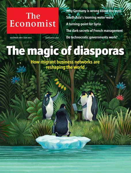 Penguins Magic of Diasporas / The Economist
