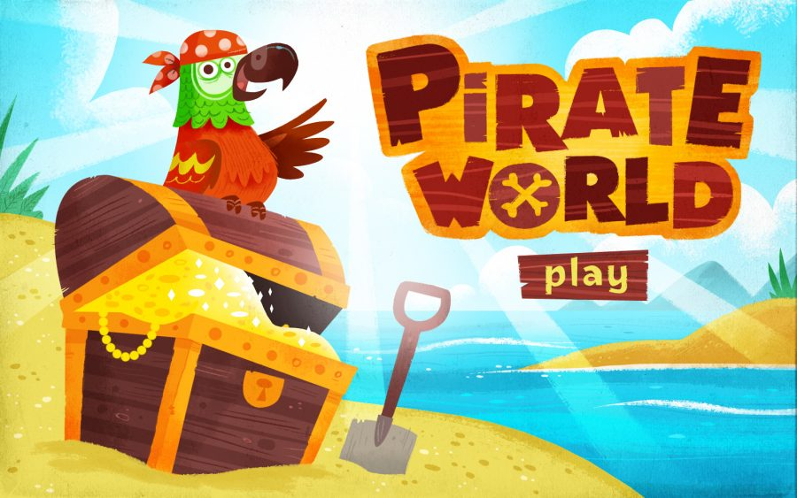 Pirate world - Intro Screen
