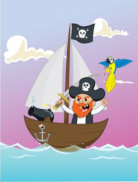 Pirates Say Yaaaarrrrr!
