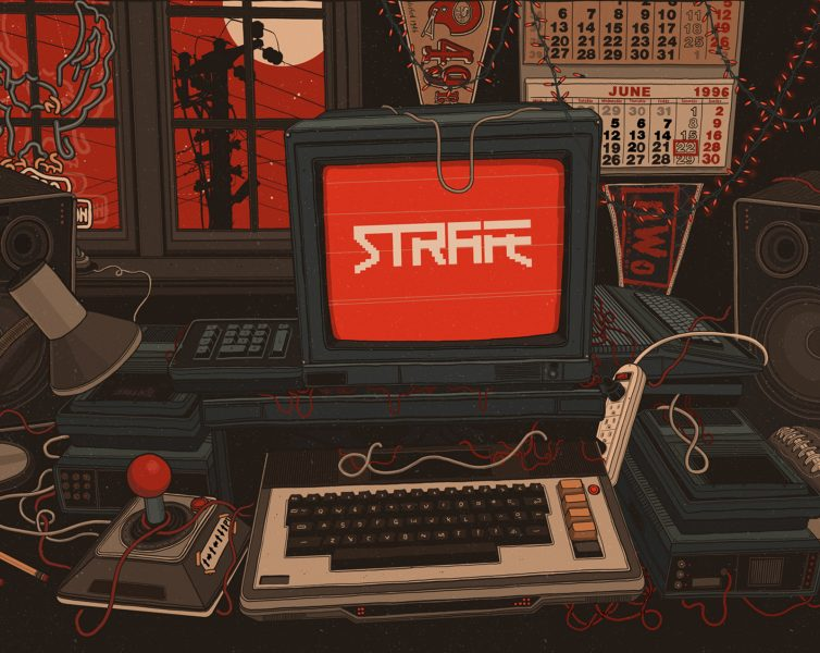 Pixel Titans Strafe Computer Game