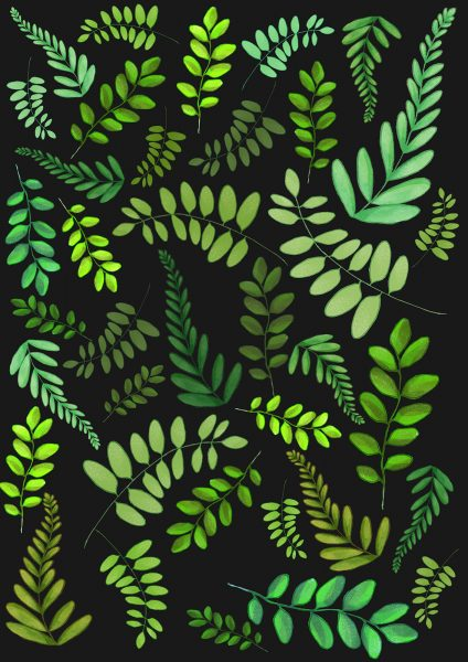 Plant stem pattern