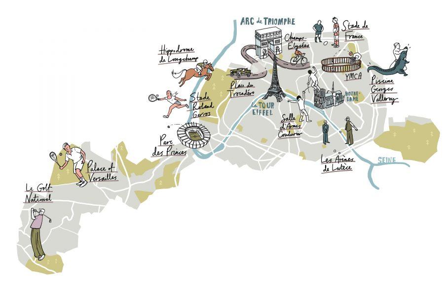 Populous Magazine Paris Map