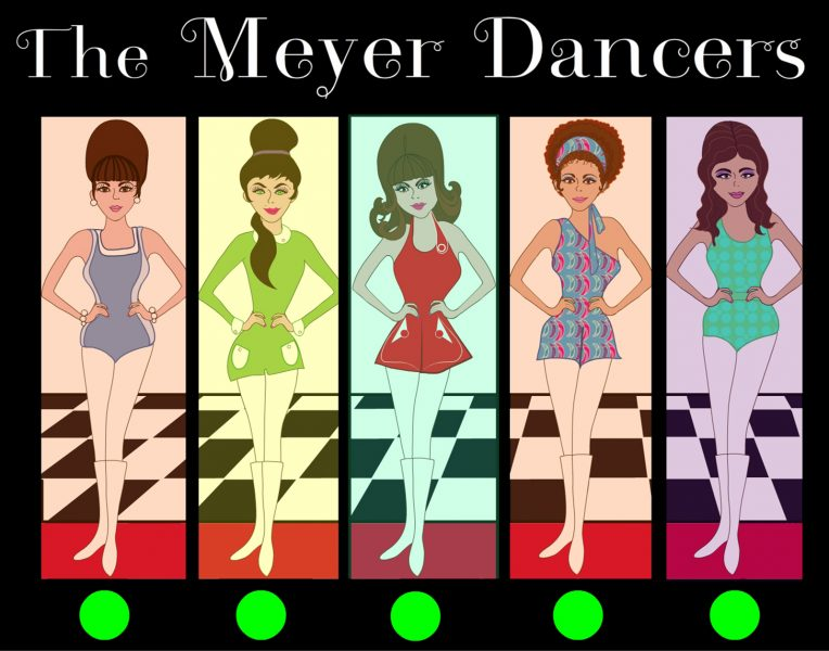 Posters and flyers for The Meyer Dancers