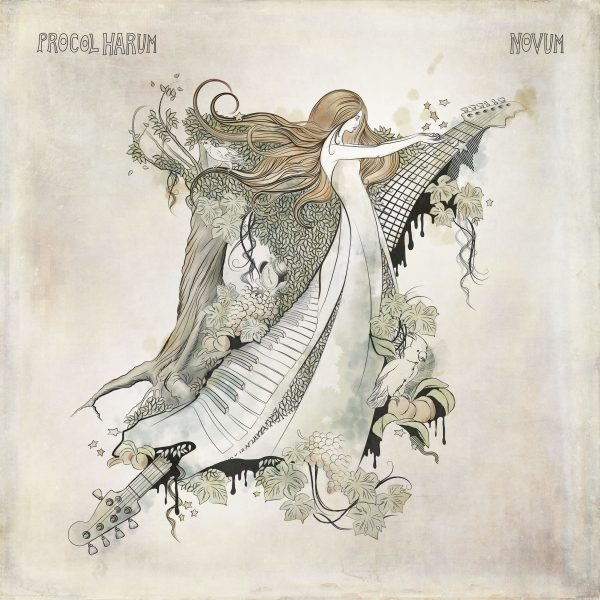 Procol Harum, Novum, 2017: Cover Illustration