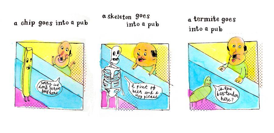 Pub jokes