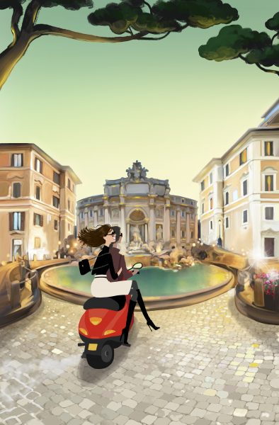 Rachell Does Rome