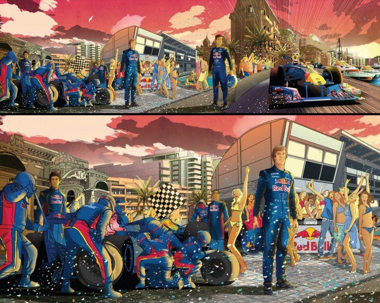 Red Bull Racing Monaco GP 2011 Party Invite