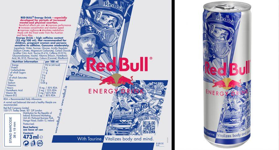 Red Bull Travis Pastrana Can Design