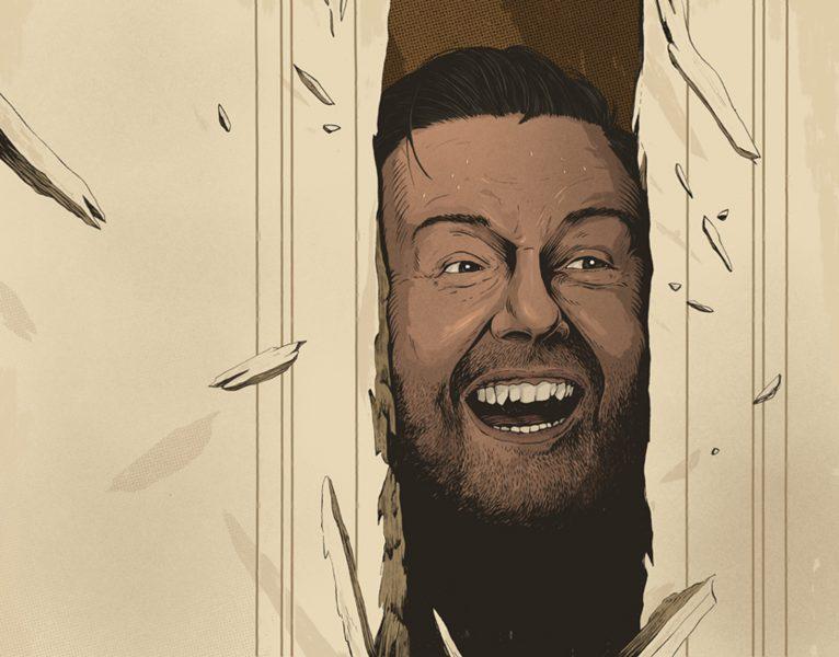 Ricky Gervais- Variety Magazine