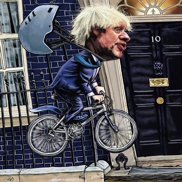 Riding Close to No.10
