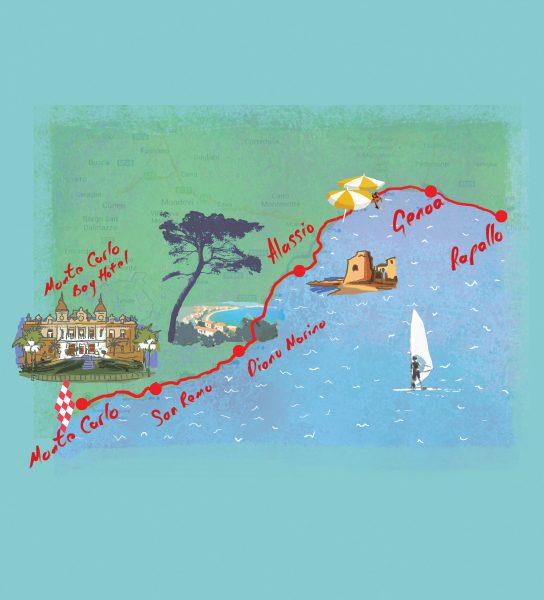 riviera map