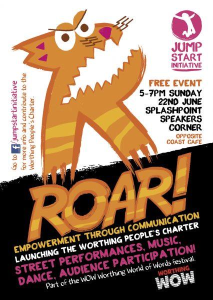 ROAR! festival logo