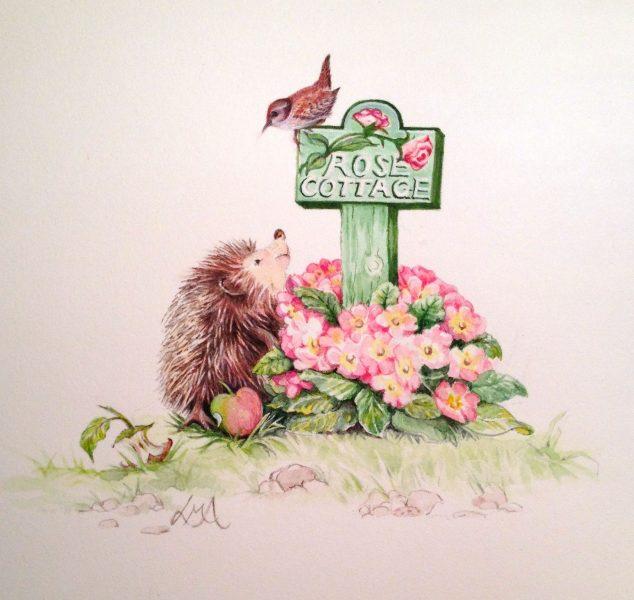 Rose Cottage Colection - Back Plate Image