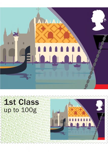 Royal Mail Sea Travel Stamps: Venice