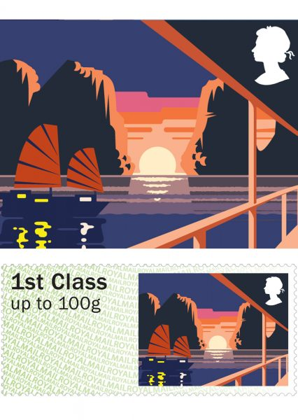Royal Mail Sea Travel Stamps: Vietnam
