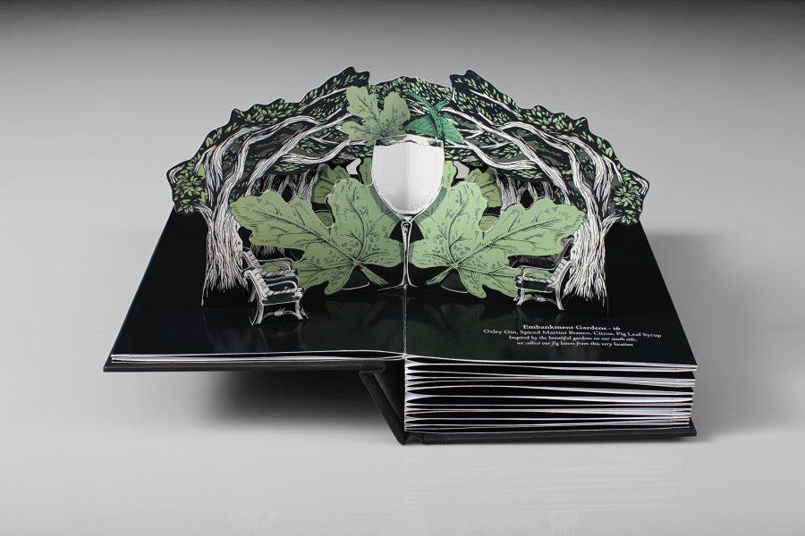Savoy Menu / Helen Friel Collaboration