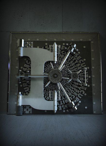 Security Cover Vault 3D Type IBM Magazine