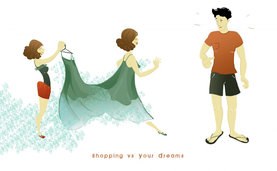 Shopping vs Your Dreams
