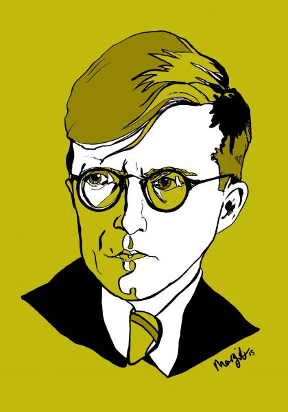 Shostakovich | pen/ink/digital