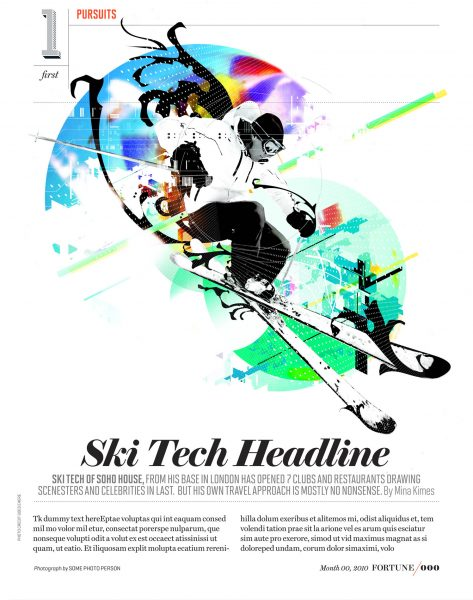 Ski Tech / Fortune Magazine