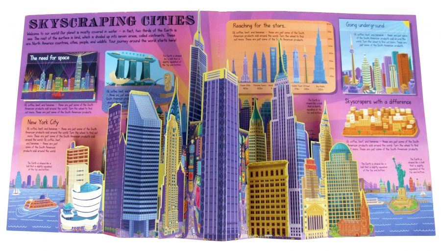 'Skyscraping Cities' from 'My Pop-Up Cities Atlas'