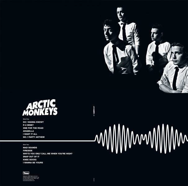 Sleeve Design Arctic Monkeys