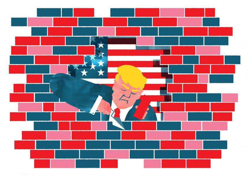 Small Hands, Big Wall
