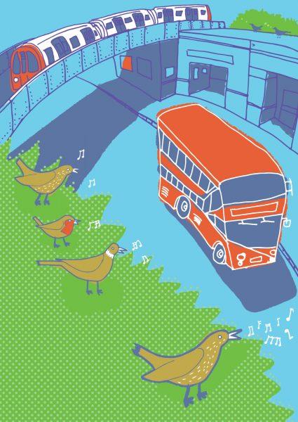 Sounds of London - 'bird song'