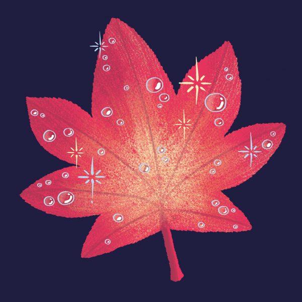 Sparkling Leaf