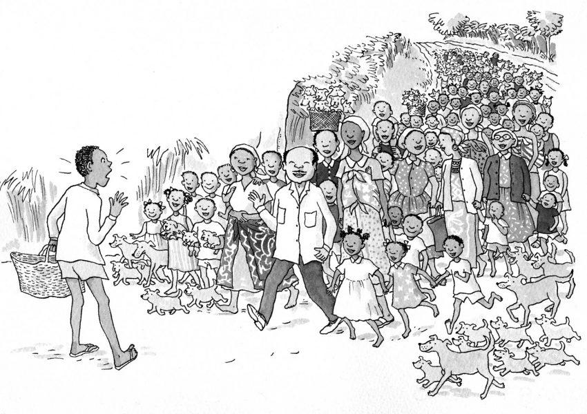 St Ives, ELT book for Nigerian market