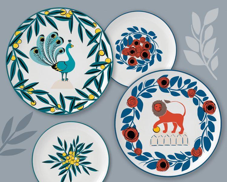 Staffordshire Plates
