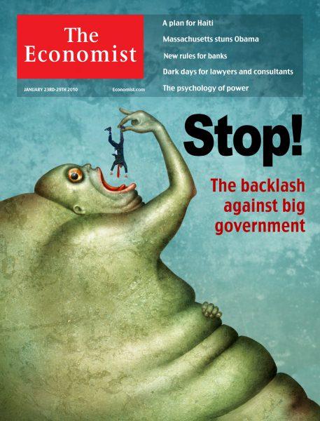 Stop! / The Economist