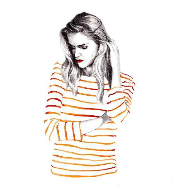 Striped lady
