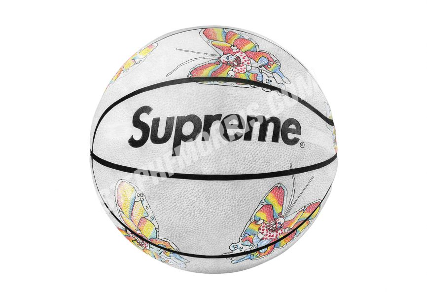 Supreme x Spalding Gonz Butterfly Basketball