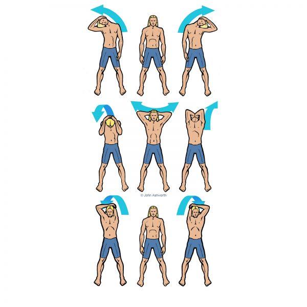 John Ashworth Surfer Surf athlete Stretch Exercise male sport beach nature positive body image sea fun health holiday