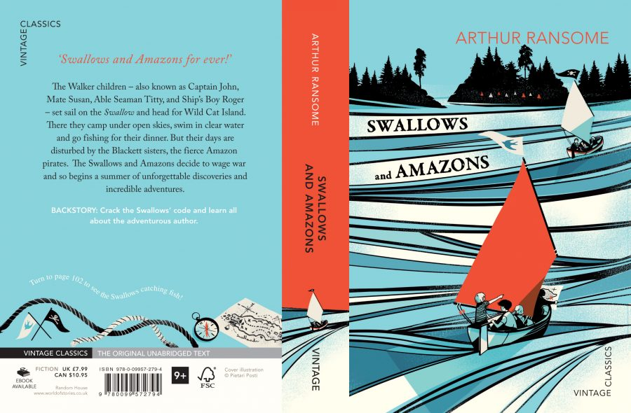 Swallows & Amazons Cover / Arthur Ransome