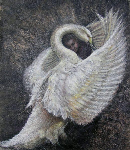 Swan Hug
