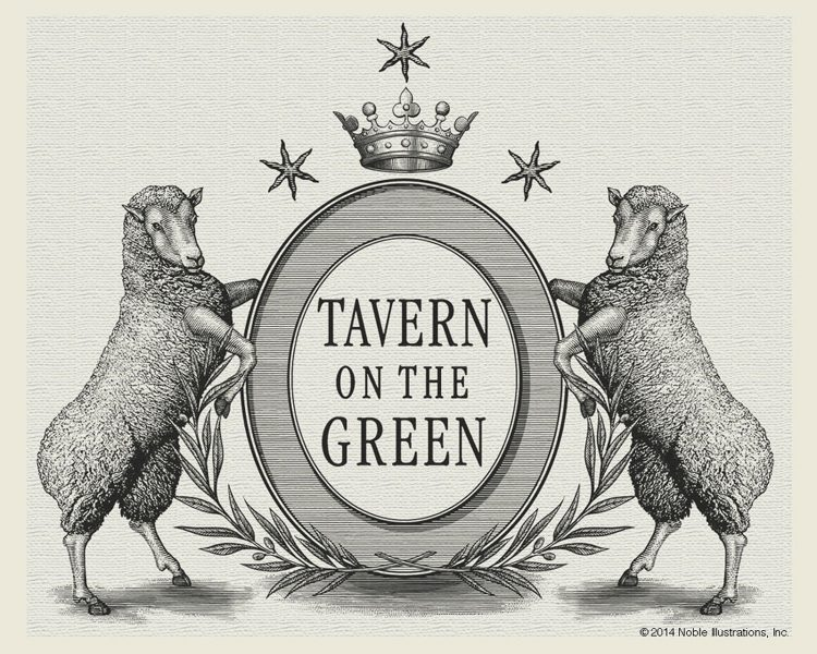 Tavern on the Green Logo Identity