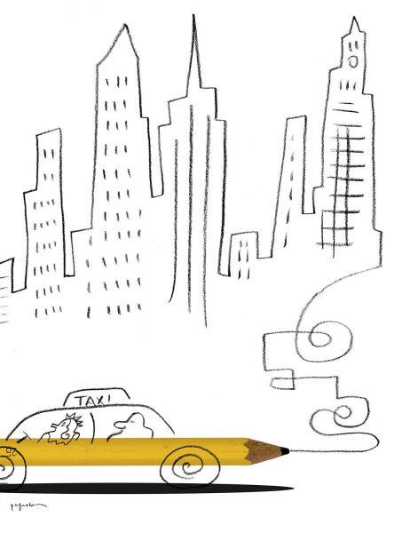 Taxi by Satoshi Kambayashi