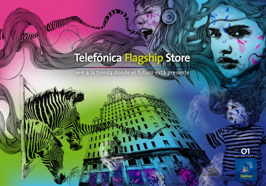 Telefonica Flagship Store Madrid