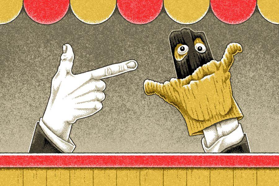 Terrorism Hand Puppet