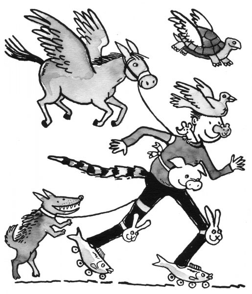 TES illustration, memory techniques