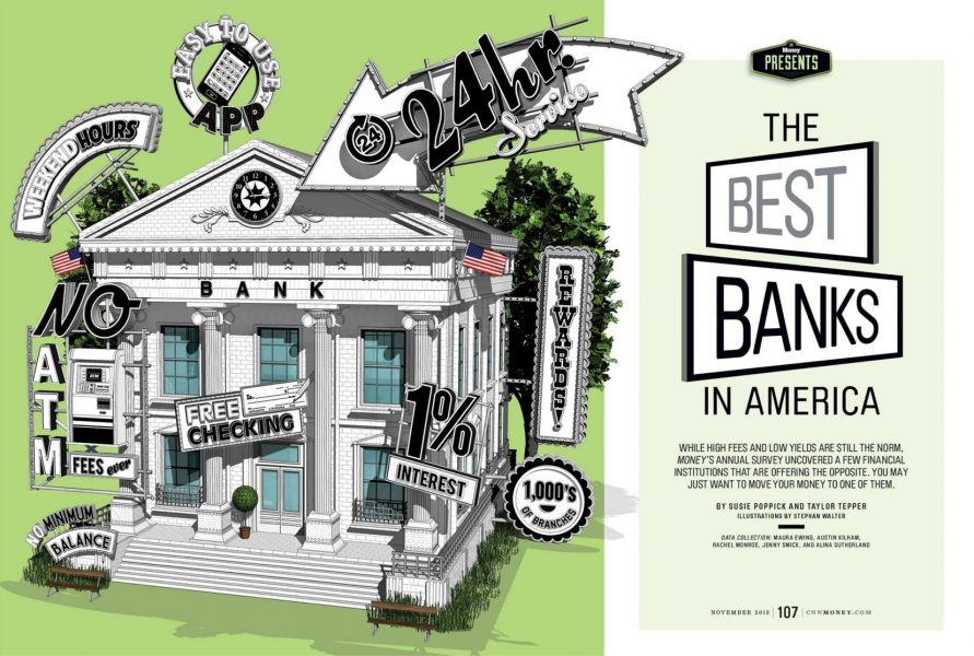 The Best Banks in America / CNN Money Magazine