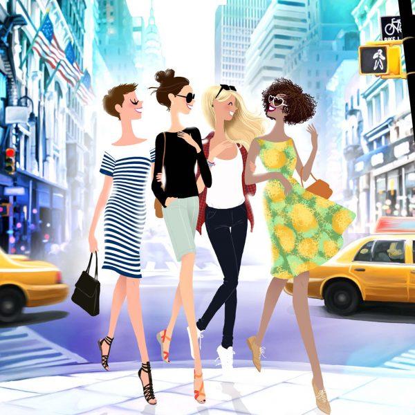 The Girls take Manhattan