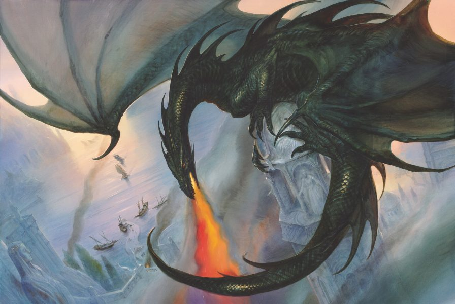 The Grey Havens: The Black Wyrm at Mithlond