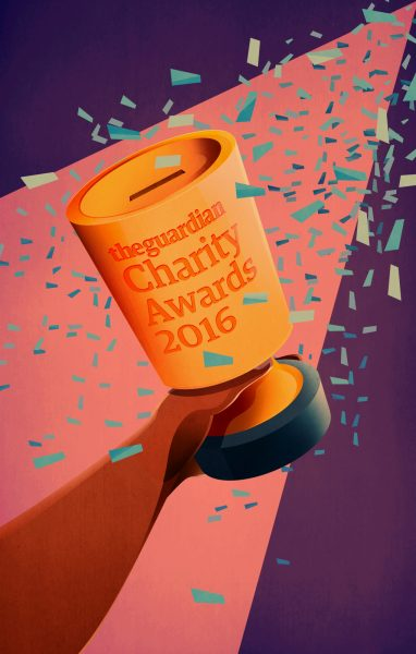 The Guardian Charity Awards Illustration