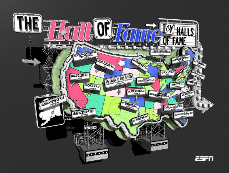 The Hall Of Fame Of Halls Of Fame / ESPN